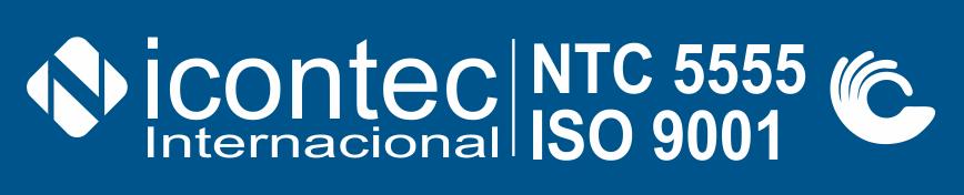 Certificación de Calidad ISO 9001 NTC 5555 - Carl Ros